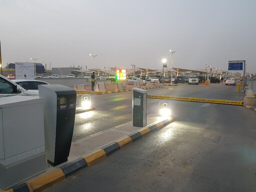 King Khalid International Airport Terminal Terminal 5 Carpark Management and Payment System