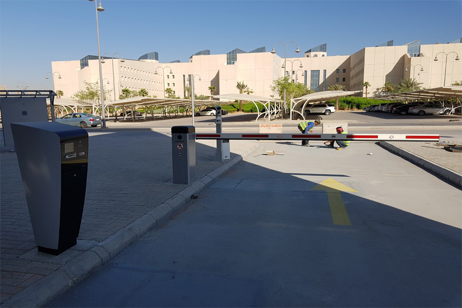 KSA Ministry of Education Parking Guidance System